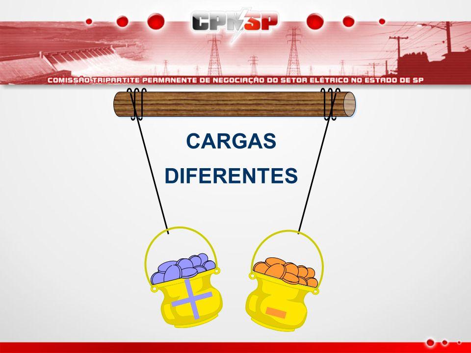 CARGAS DIFERENTES + -