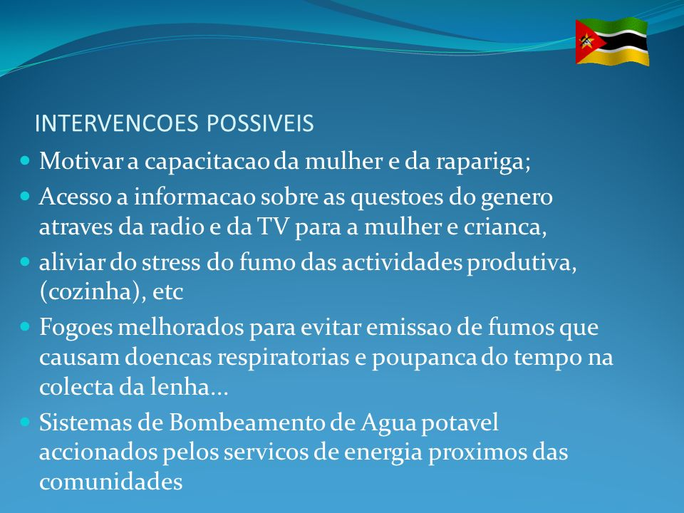 INTERVENCOES POSSIVEIS