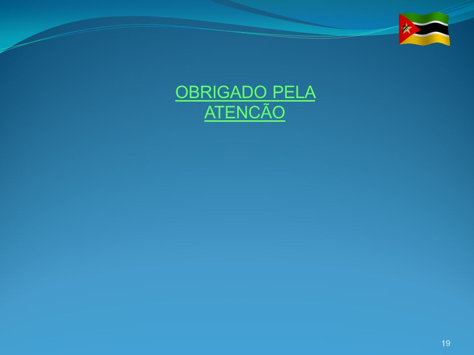 OBRIGADO PELA ATENCÃO