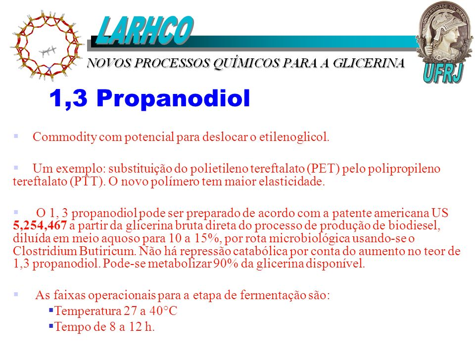 LARHCO 1,3 Propanodiol UFRJ