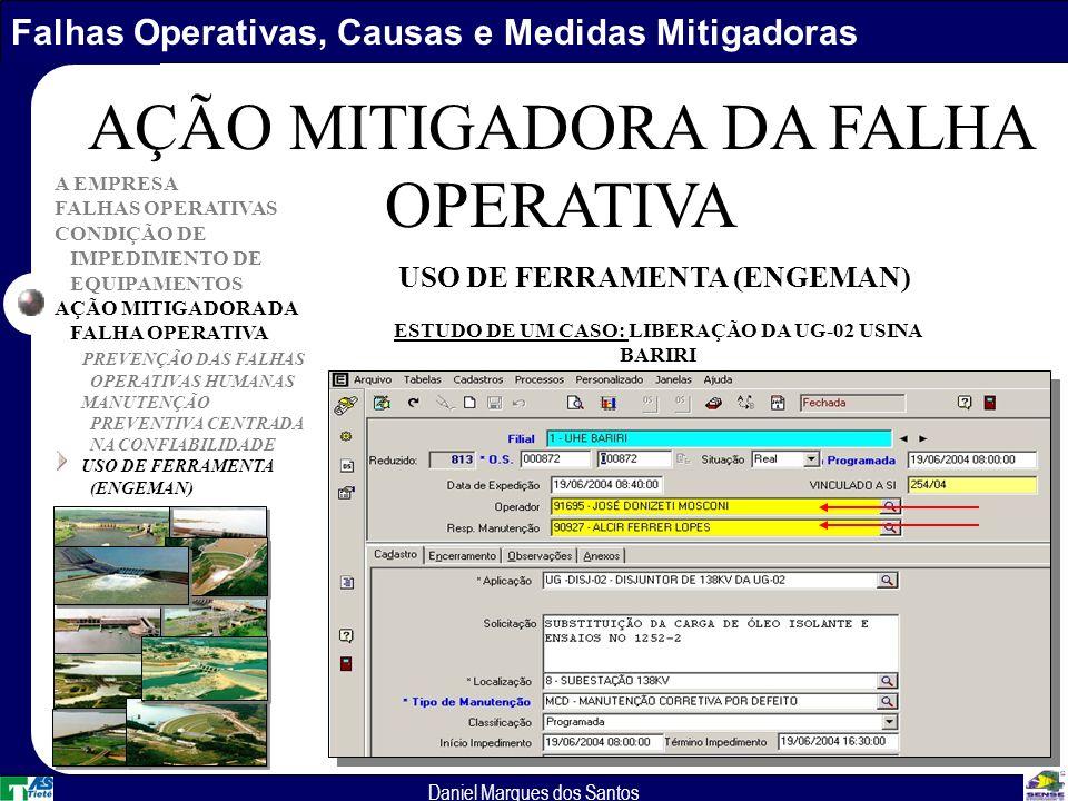 AÇÃO MITIGADORA DA FALHA OPERATIVA