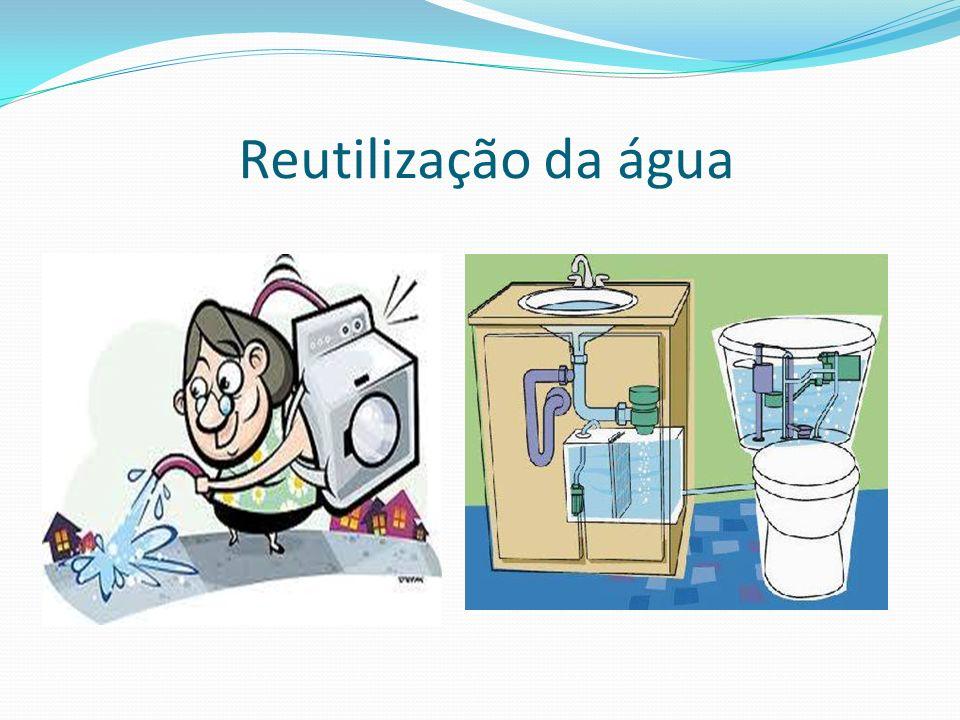 Reutilização da água