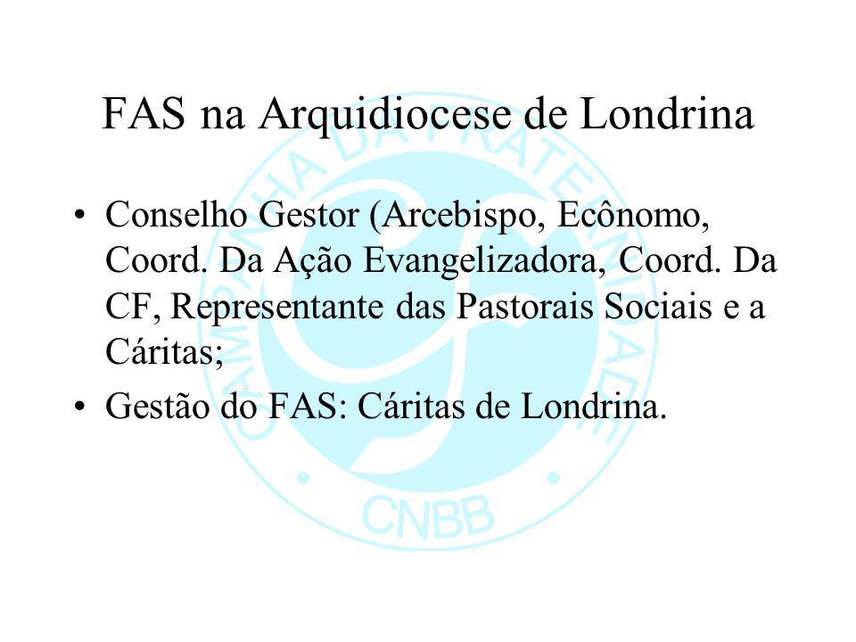 FAS na Arquidiocese de Londrina