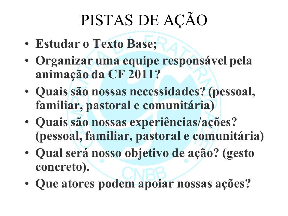 PISTAS DE AÇÃO Estudar o Texto Base;
