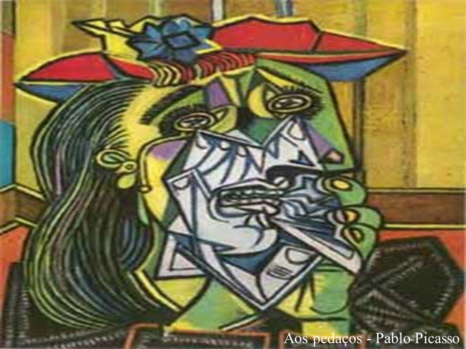 Aos pedaços - Pablo Picasso