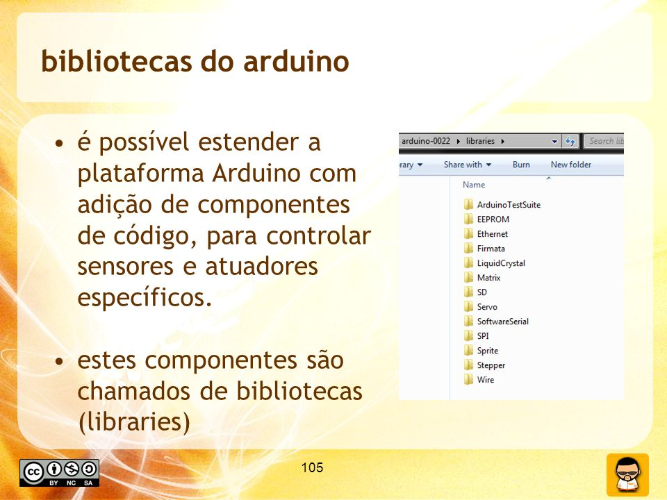bibliotecas do arduino