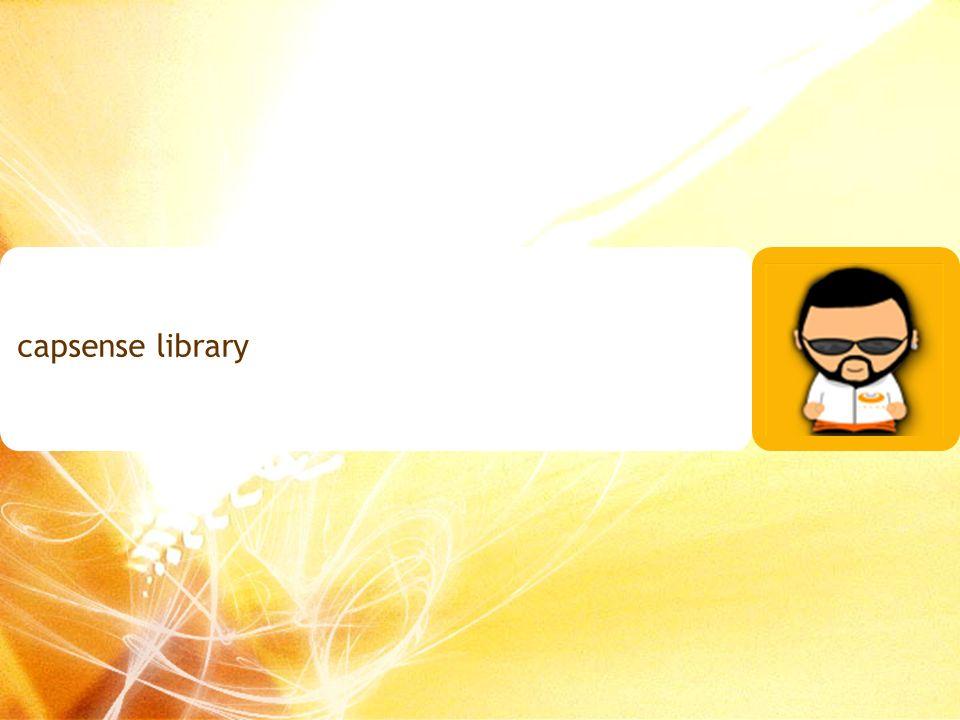 capsense library 130
