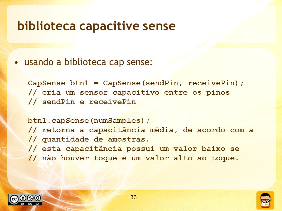 biblioteca capacitive sense