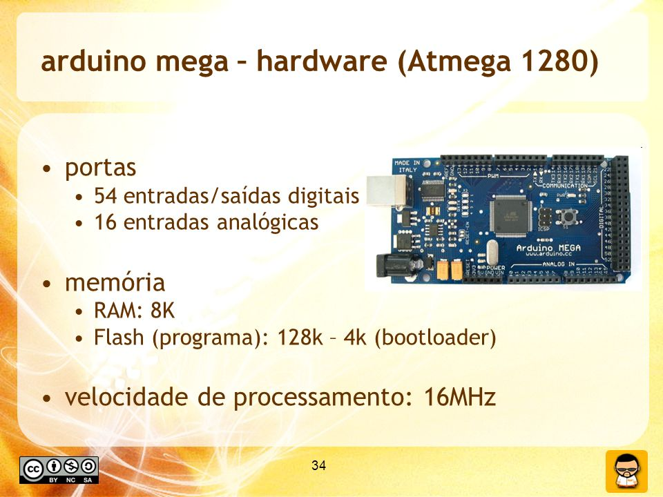 arduino mega – hardware (Atmega 1280)