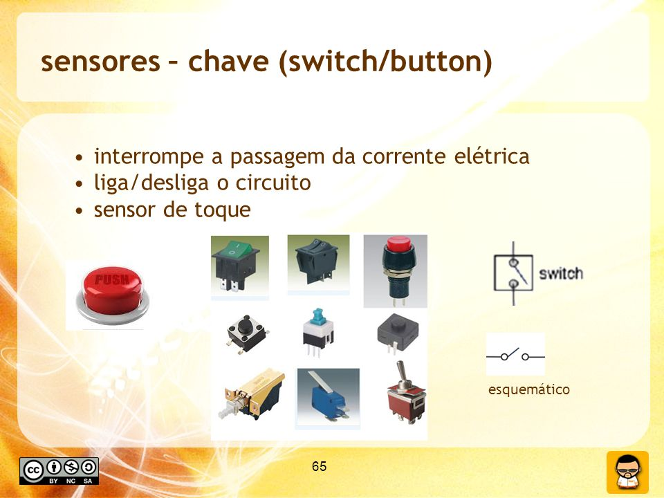 sensores – chave (switch/button)