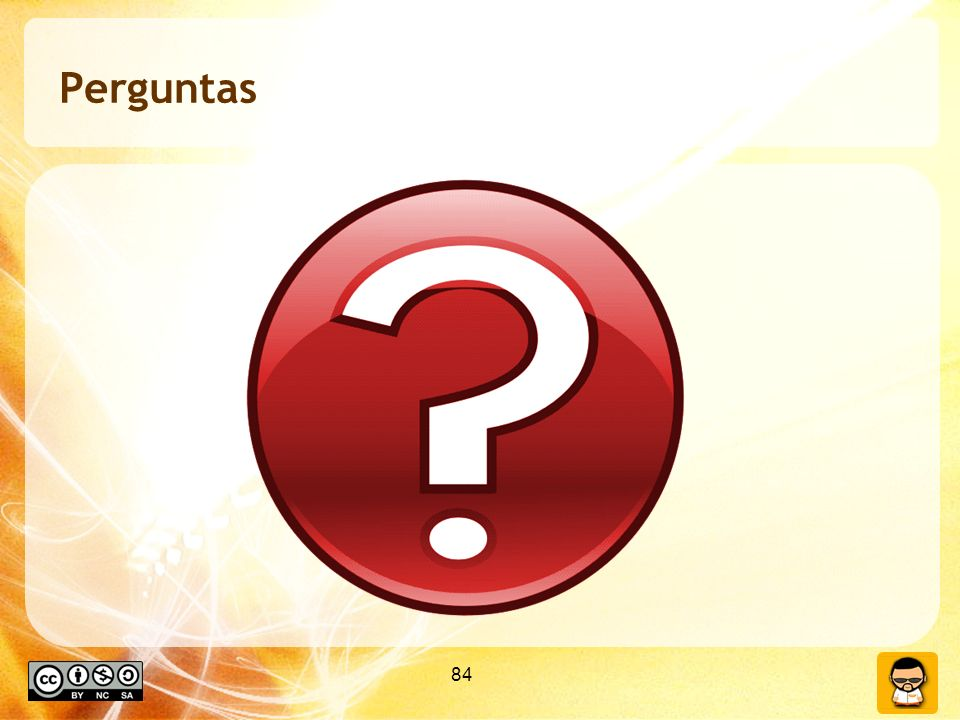 Perguntas 84 84