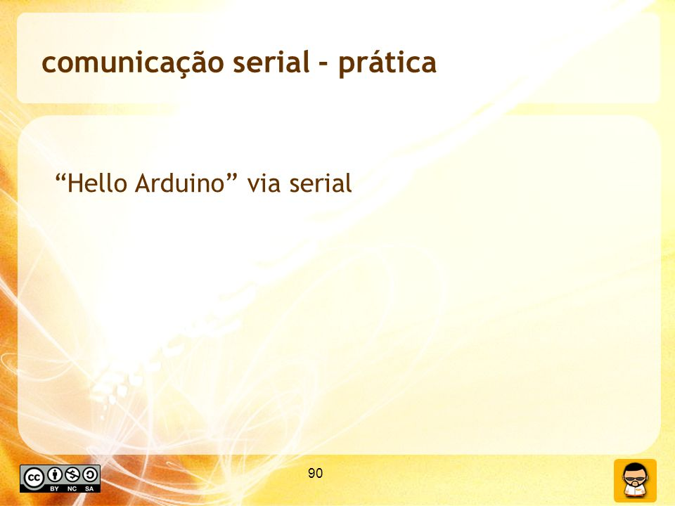 comunicação serial - prática