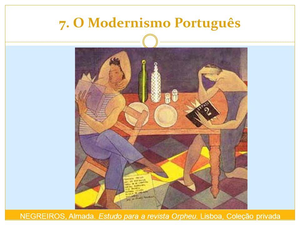 7. O Modernismo Português