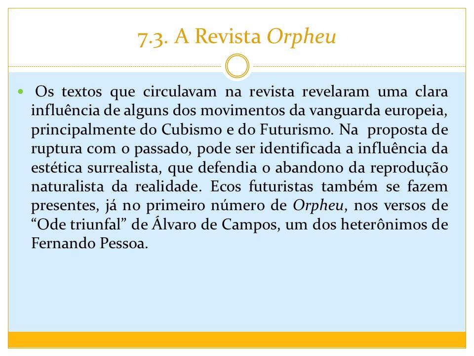 7.3. A Revista Orpheu