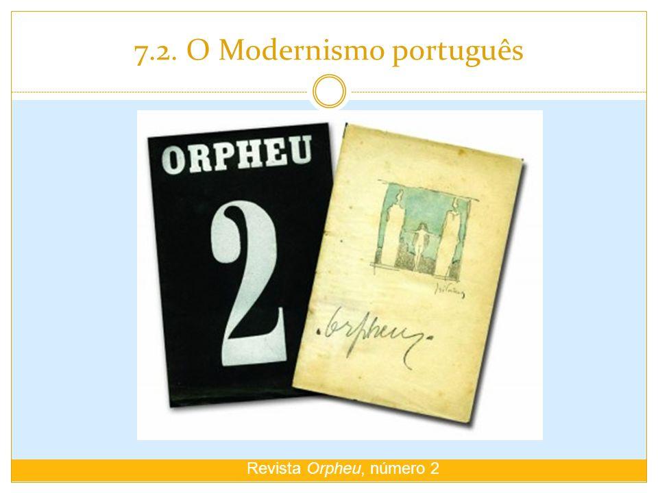 7.2. O Modernismo português