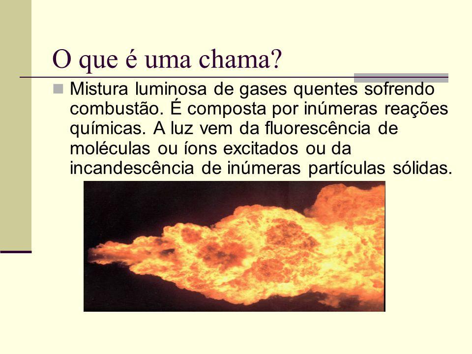 O que é uma chama