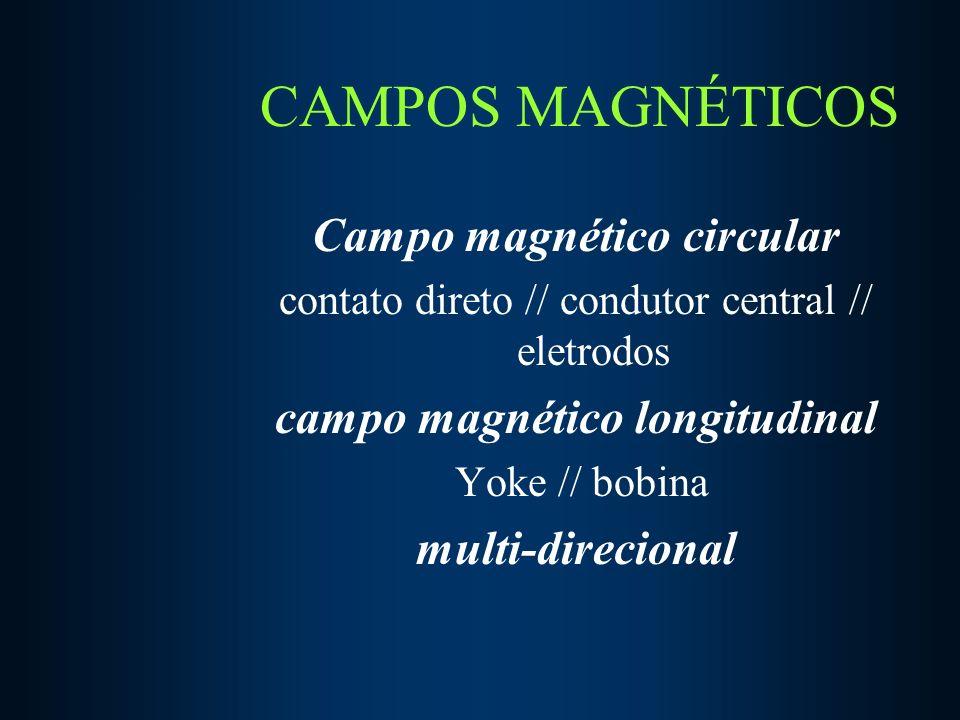 CAMPOS MAGNÉTICOS Campo magnético circular