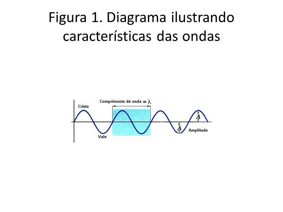 Figura 1. Diagrama ilustrando características das ondas