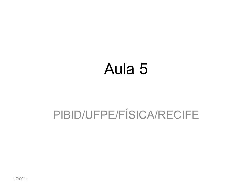 PIBID/UFPE/FÍSICA/RECIFE