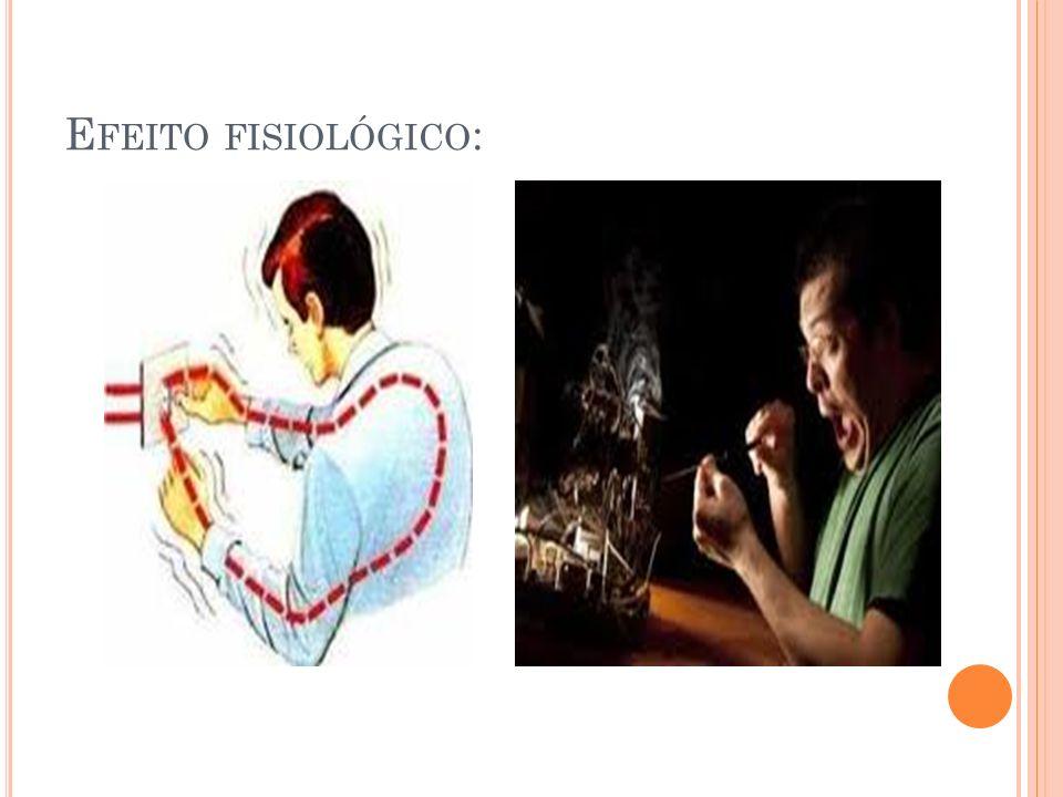 Efeito fisiológico: