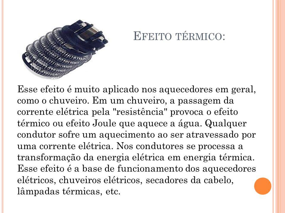 Efeito térmico: