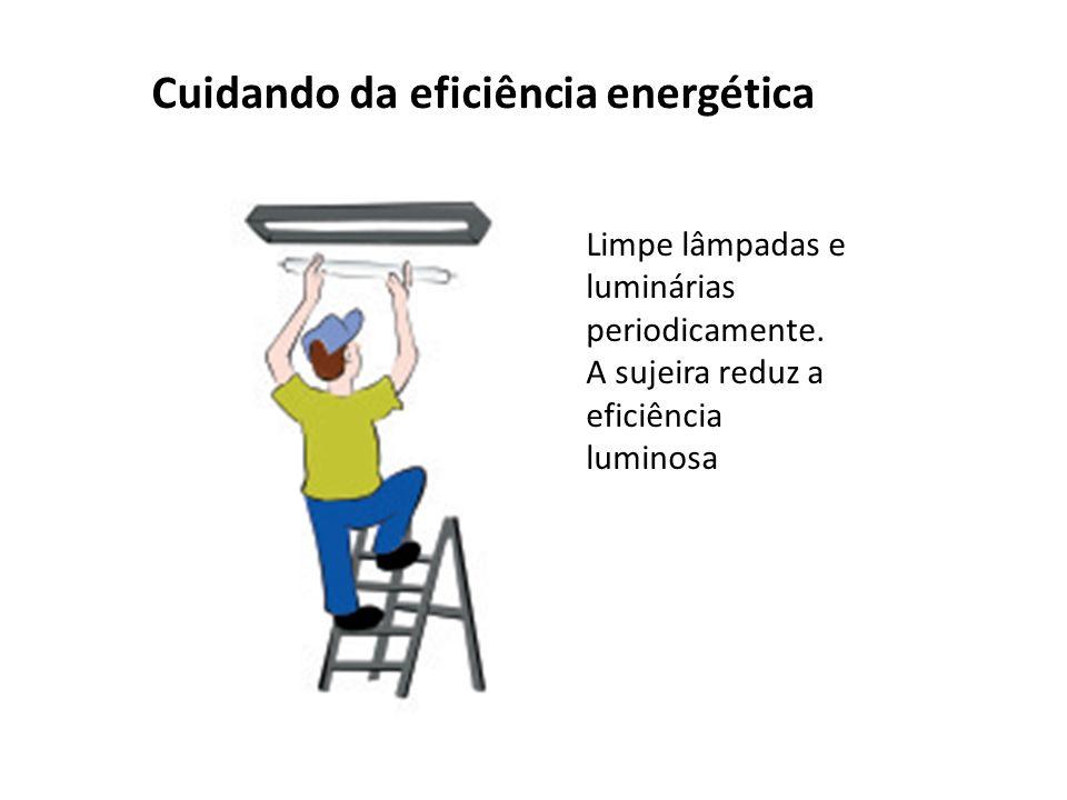 Cuidando da eficiência energética