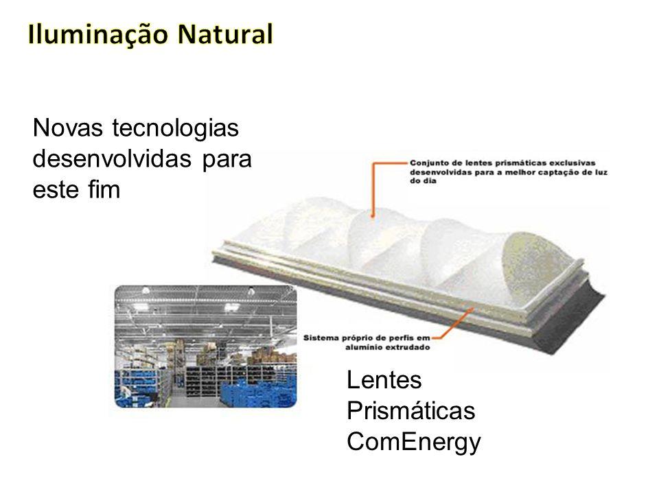 Iluminação Natural Novas tecnologias desenvolvidas para este fim