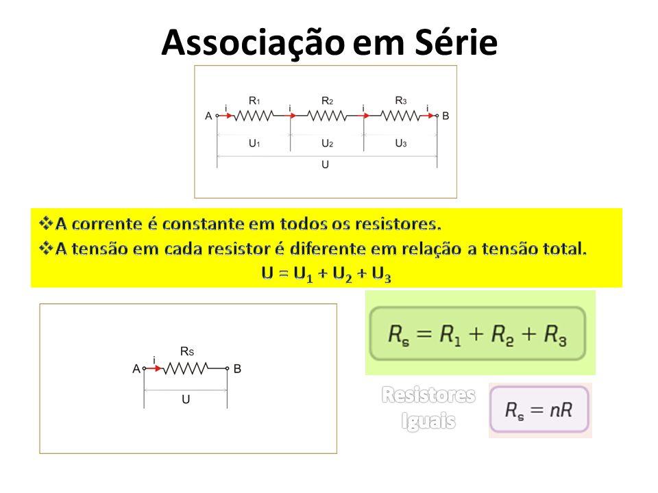Associação em Série Resistores Iguais