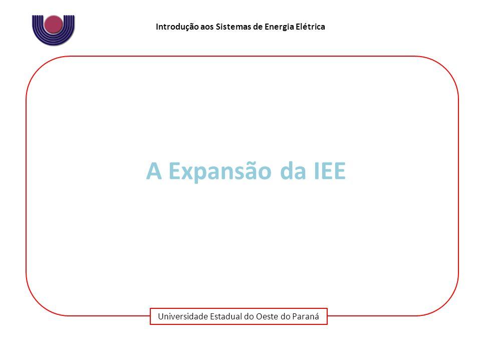 A Expansão da IEE