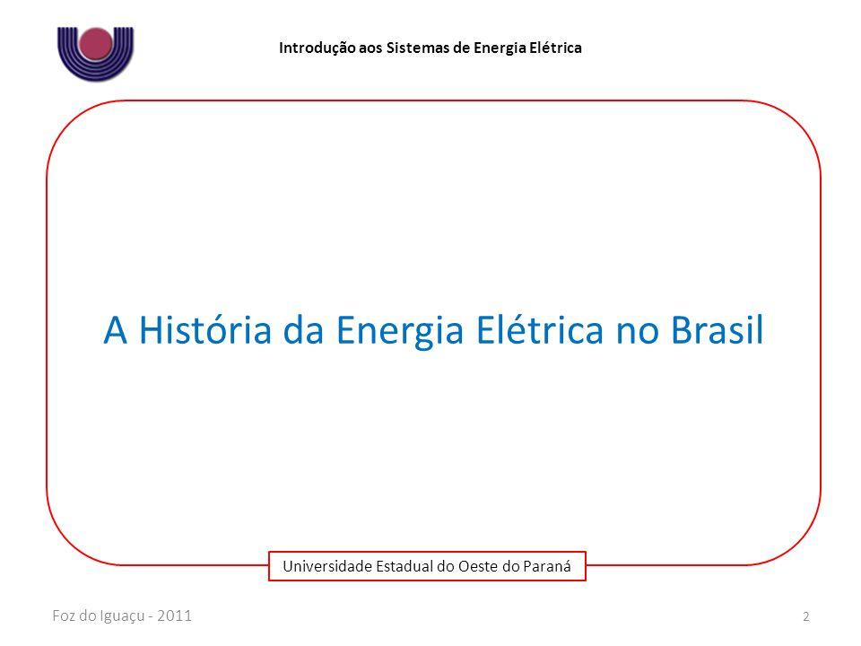 A História da Energia Elétrica no Brasil