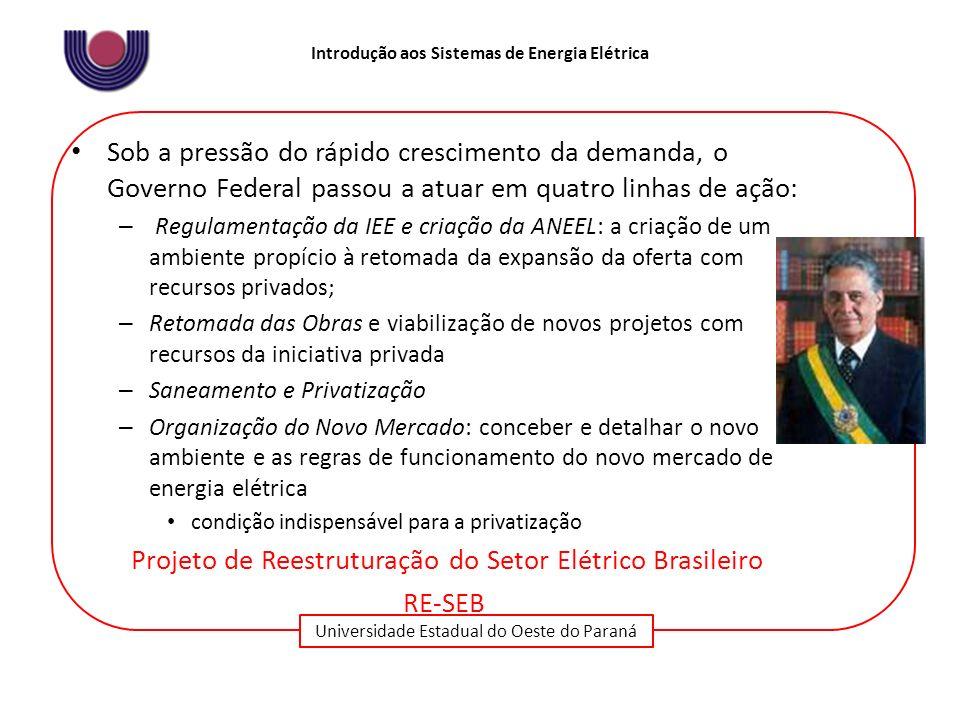 Projeto de Reestruturação do Setor Elétrico Brasileiro