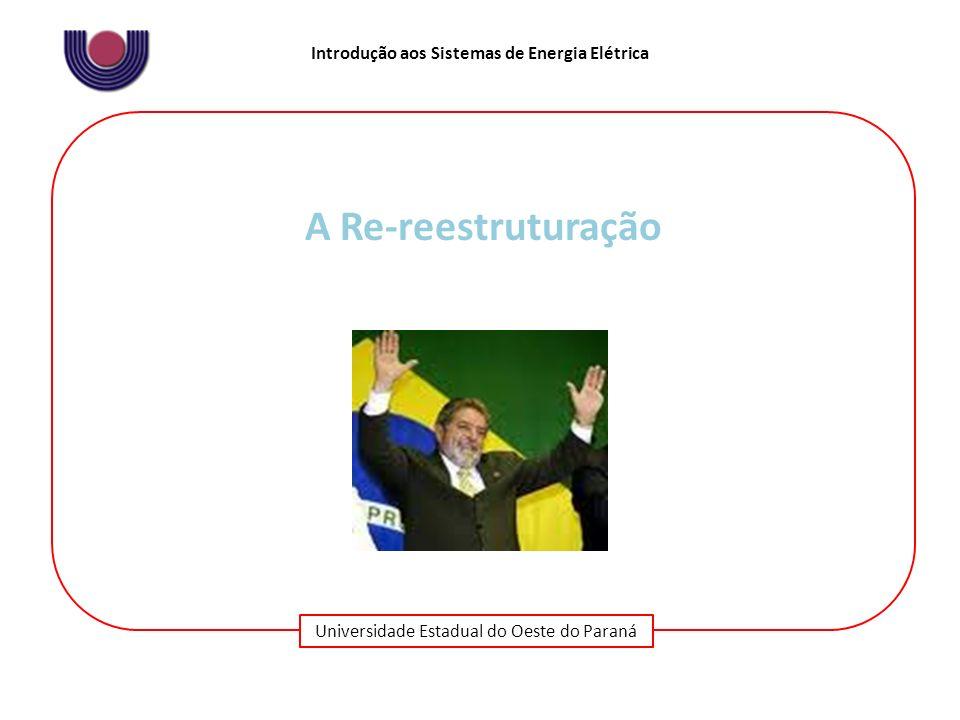 A Re-reestruturação