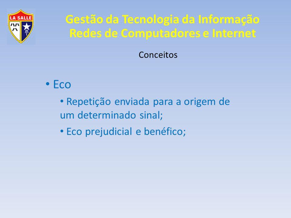 Eco Repetição enviada para a origem de um determinado sinal;
