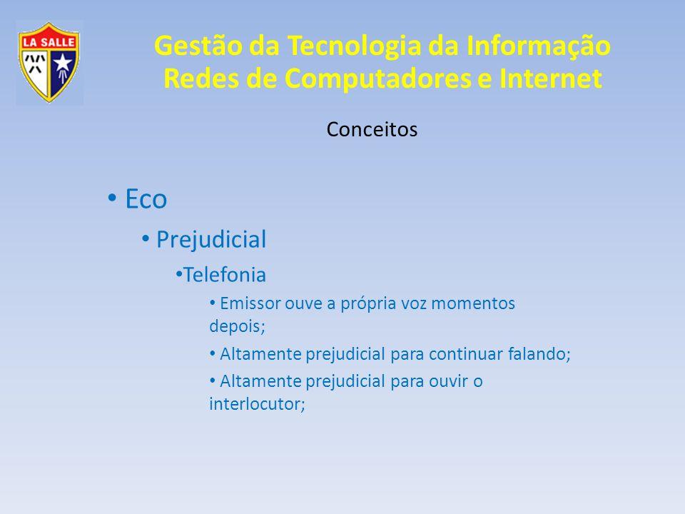 Eco Prejudicial Conceitos Telefonia