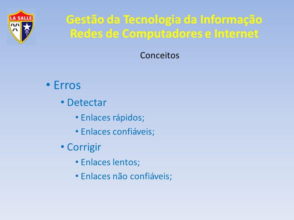 Erros Detectar Corrigir Conceitos Enlaces rápidos; Enlaces confiáveis;