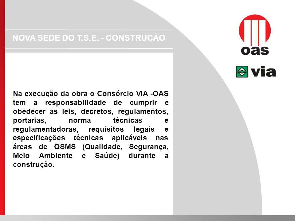 NOVA SEDE DO T.S.E. - CONSTRUÇÃO