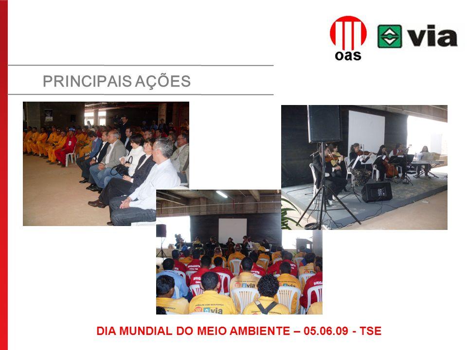 DIA MUNDIAL DO MEIO AMBIENTE – 05.06.09 - TSE
