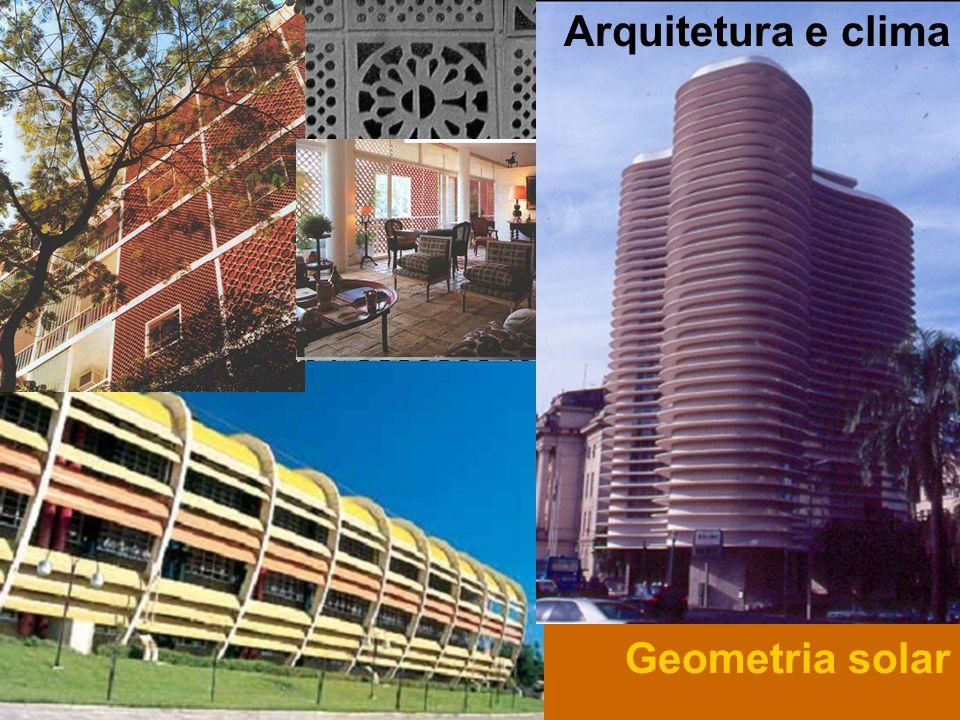 Arquitetura e clima Geometria solar