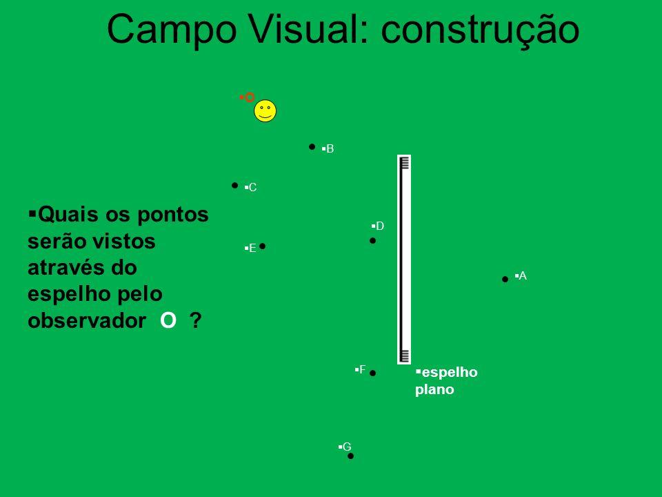 Campo Visual: construção
