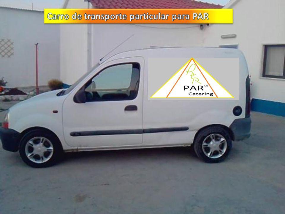 Carro de transporte particular para PAR