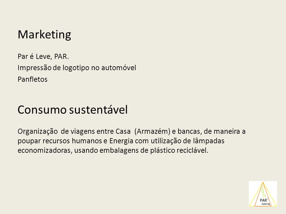 Marketing Consumo sustentável
