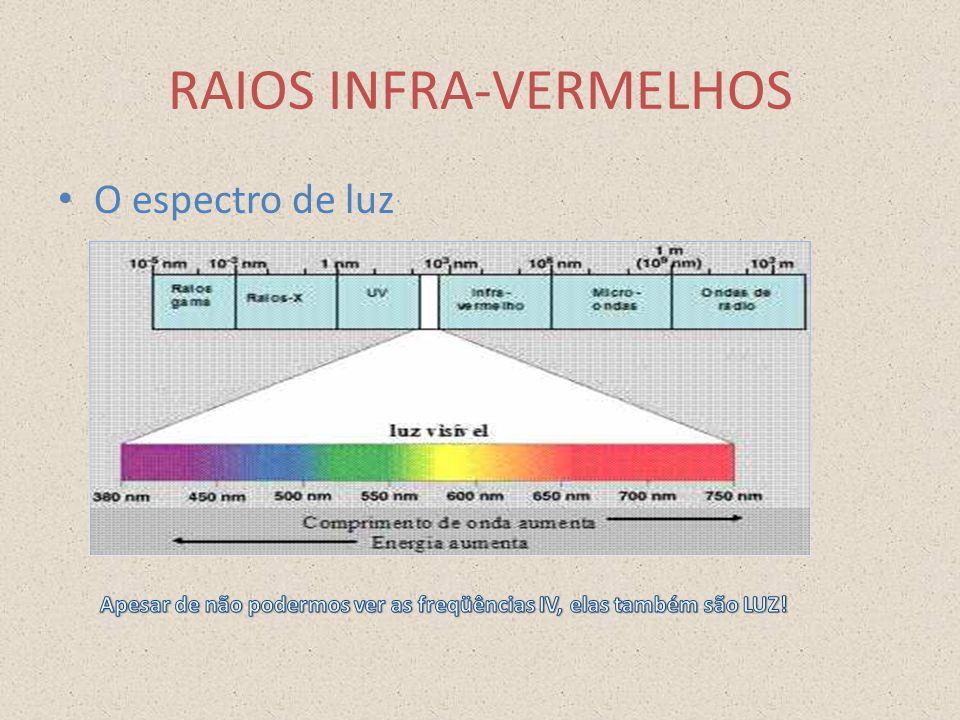 RAIOS INFRA-VERMELHOS