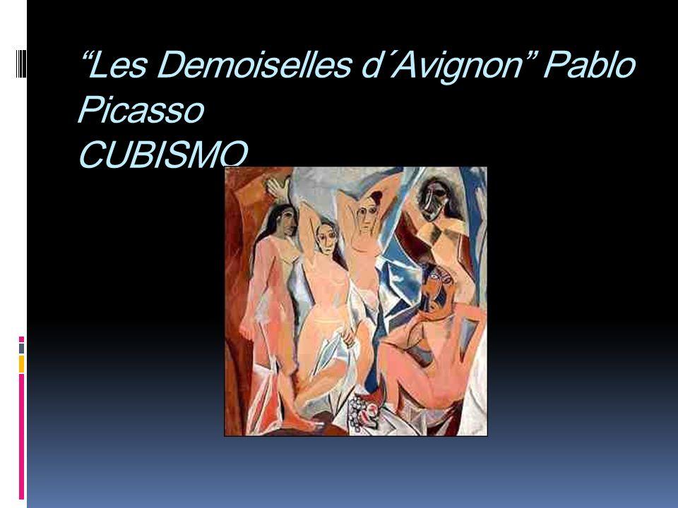 Les Demoiselles d´Avignon Pablo Picasso CUBISMO