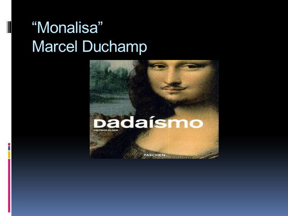 Monalisa Marcel Duchamp