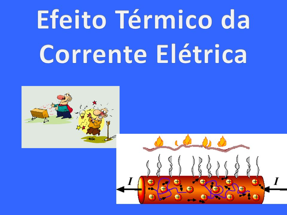Efeito Térmico da Corrente Elétrica