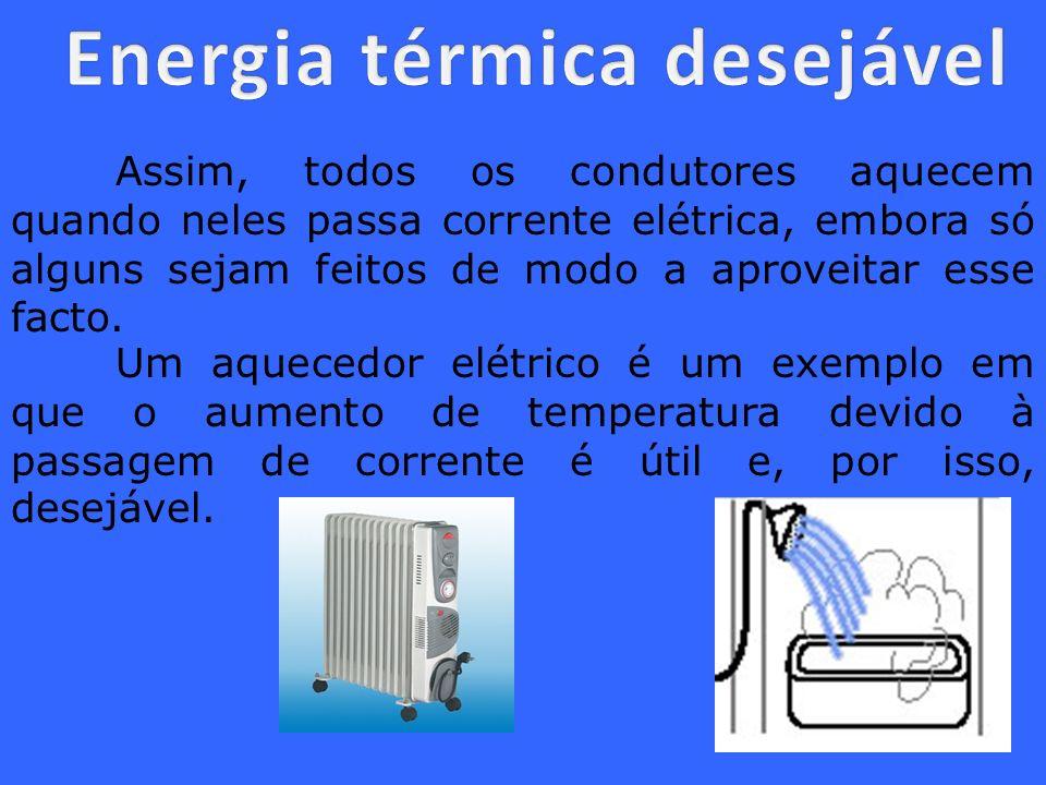 Energia térmica desejável