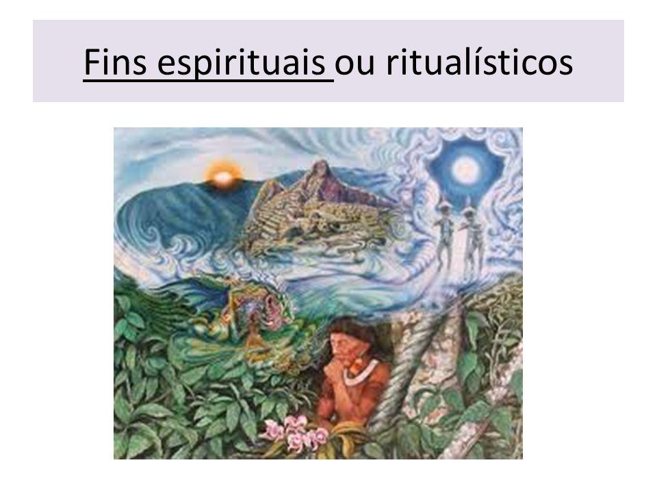 Fins espirituais ou ritualísticos