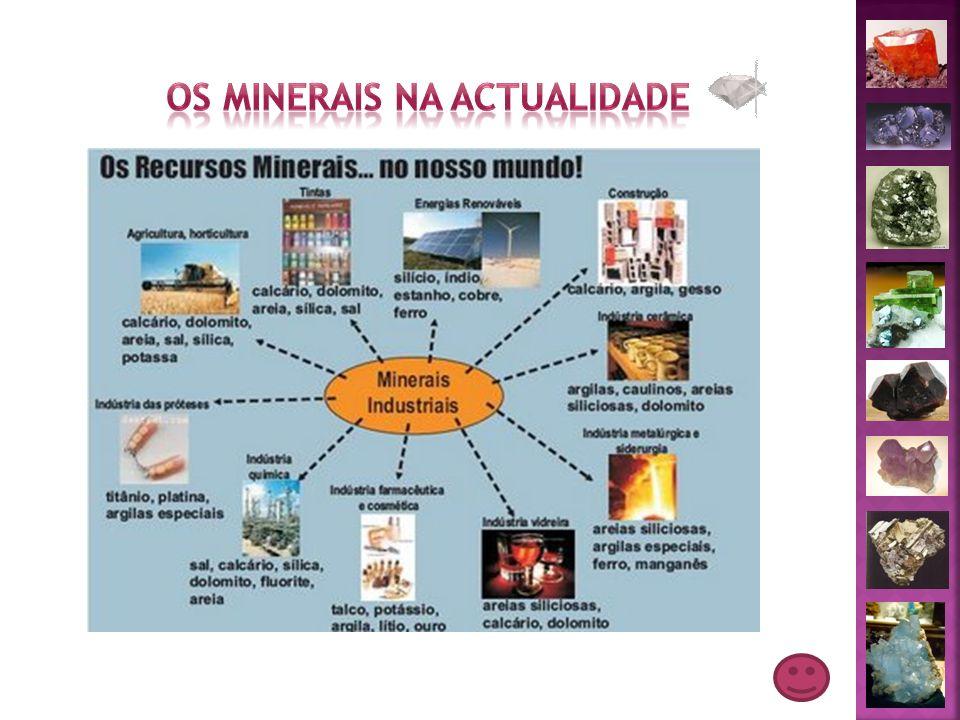 Os minerais na actualidade