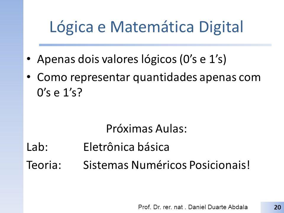 Lógica e Matemática Digital