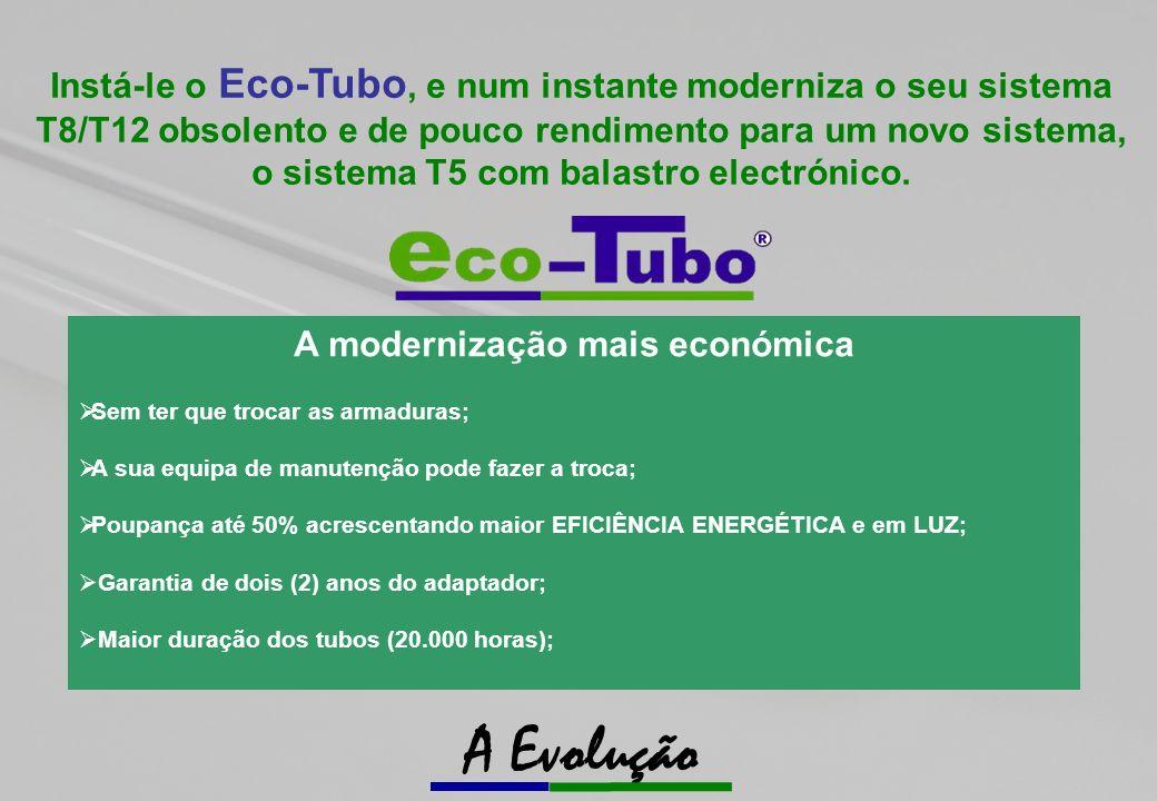 A modernização mais económica